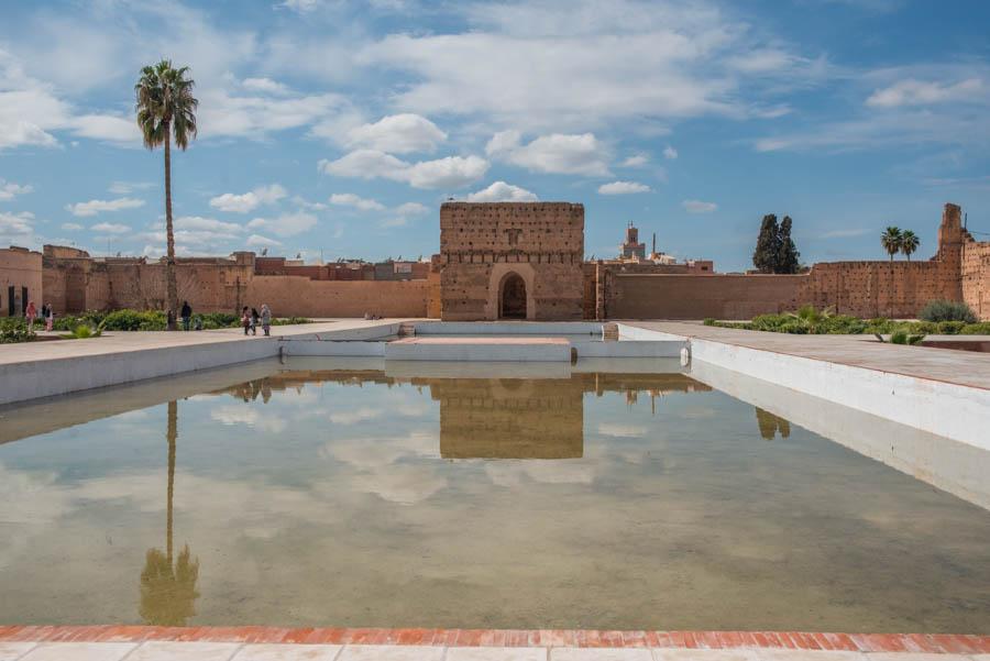 El Badi Palace, The Ruins. Marrakech