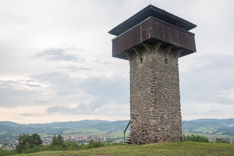 Krupina Watch Tower, Vartovka, Slovakia.