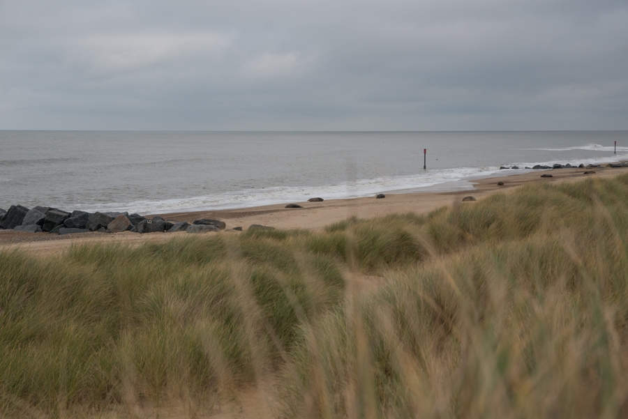 The beach at Horsey Gap