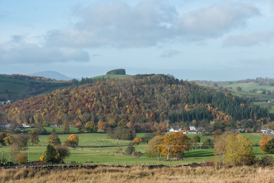 Over the fells from Helton to Roe head lane, Cumbria