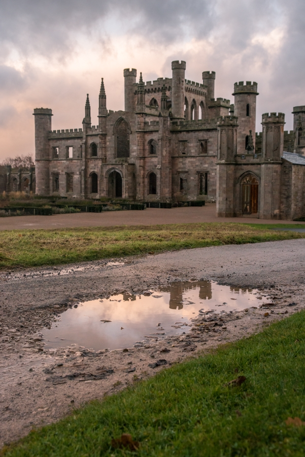 Inside Lowther Castle, The Lake District
