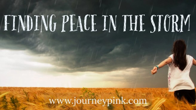 Finding Peace in the Storm