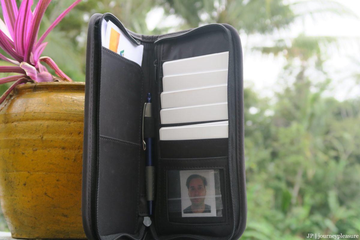 Packliste Travel Wallet - Ticket-Tasche für Reisedokumente und Kreditkarten