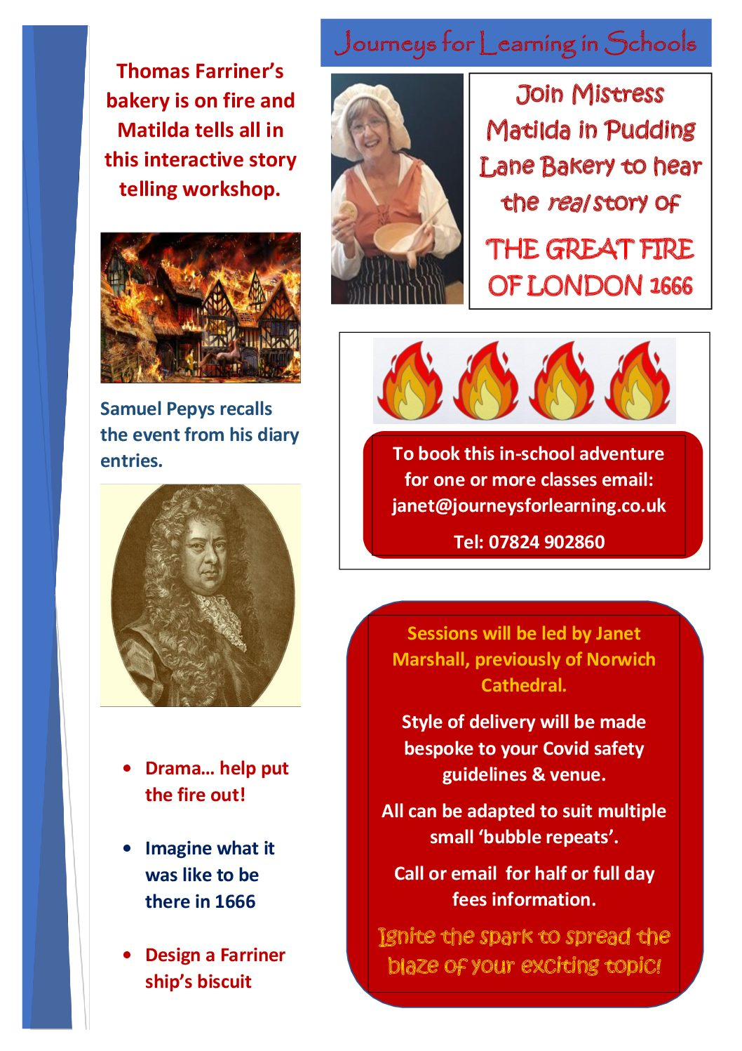 The Great Fire Of London Journeys For Learning