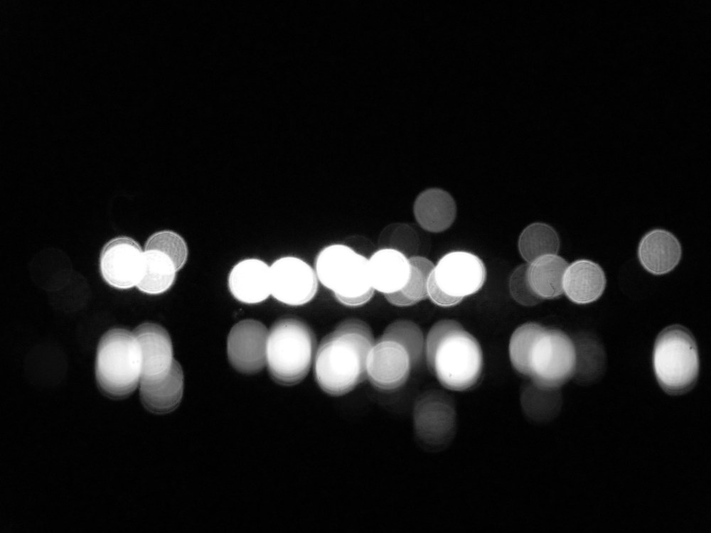 black and white bokeh (3/3)