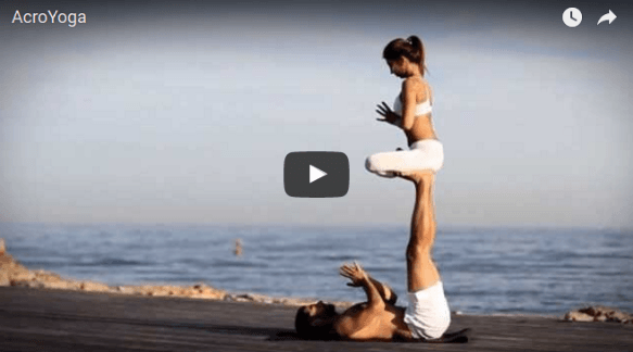 Check out this amazing Acro Yoga!