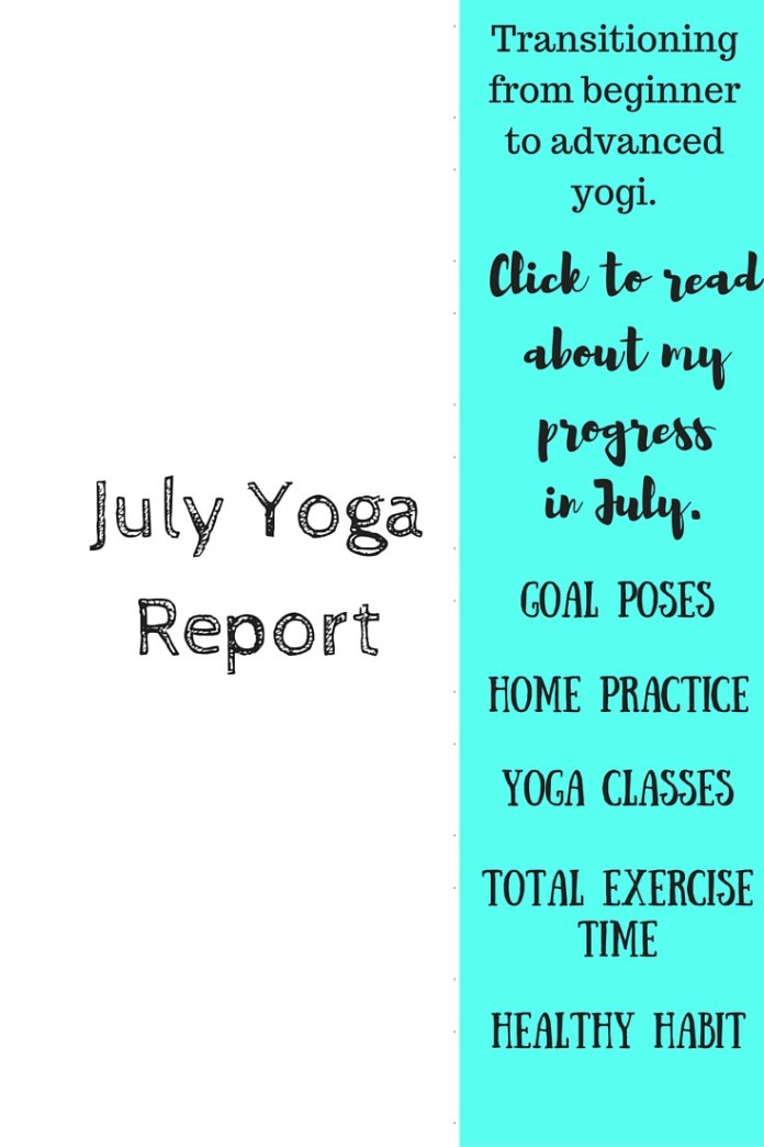 Click through to see this yogis progress. Goal poses, home practice, yoga classes, healthy habits, and more!