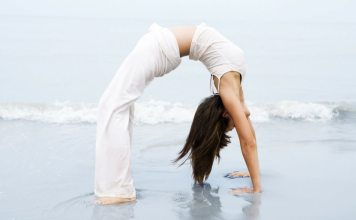 Check out what this yoga lover does every month to improve her fitness!