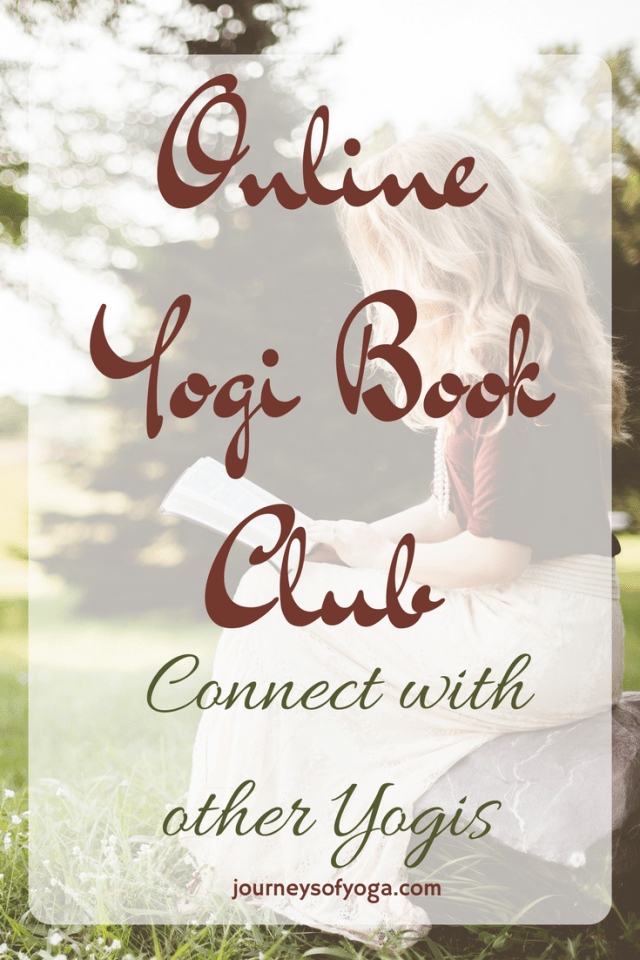 Free Online Yogi Book Club! Great way to connect with other yogis!