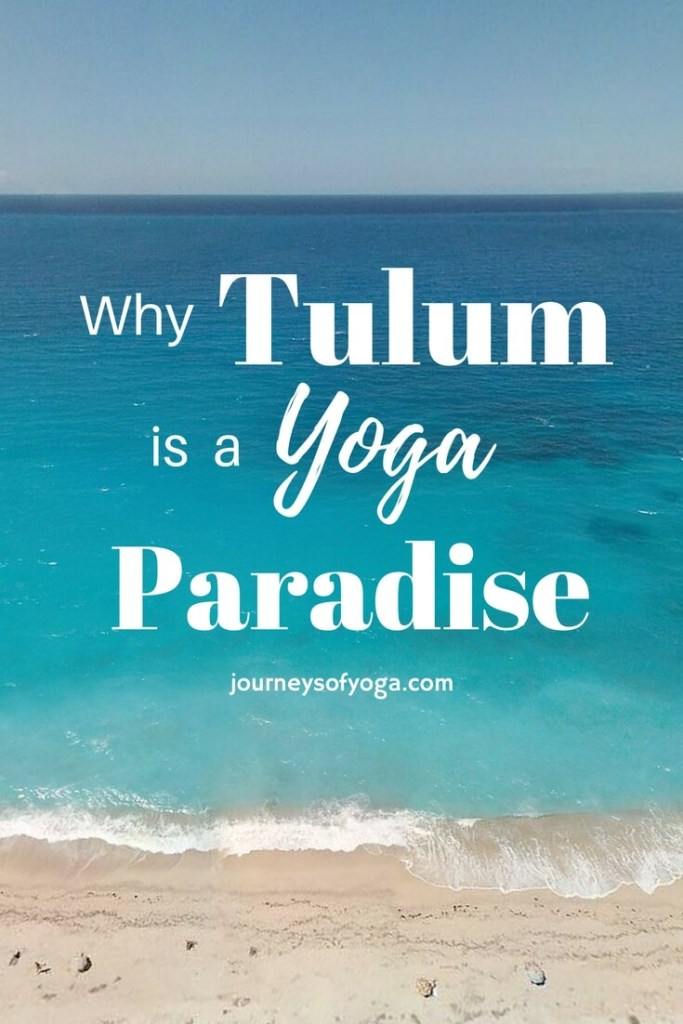 Tulum offers healthy food, beach clubs, trendy shops, and of course beautiful beach yoga. Everywhere you turn there are yoga classes, retreats, and healthy food. It truly is paradise.