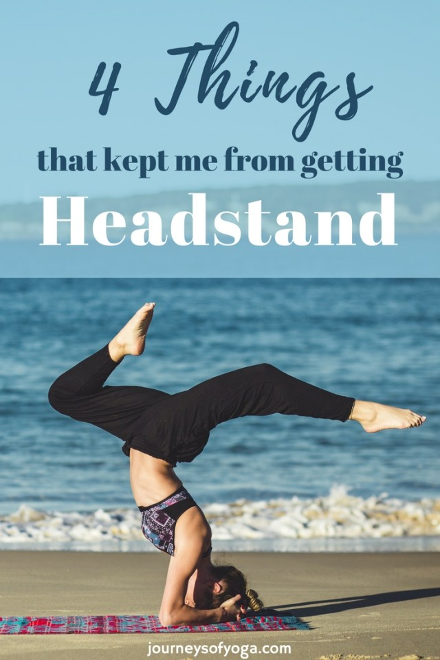 Are you struggling with headstand? This article may be just what you need.