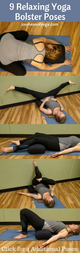 10 Relaxing Yoga Bolster Poses (1)