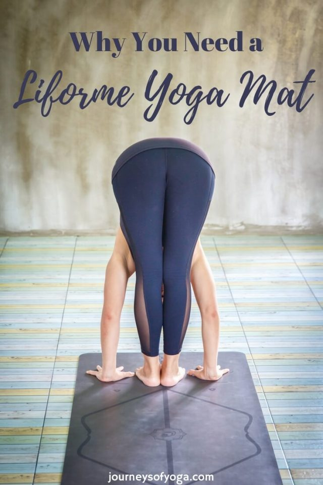 Why you should get a Liforme Yoga Mat: This mat has been featured in Vogue, Glamour, Yoga Journal, Om Yoga, and more. Find out why!