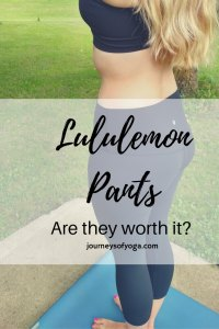 Lululemon yoga pants are expensive, is it worth the cost? Read the review.
