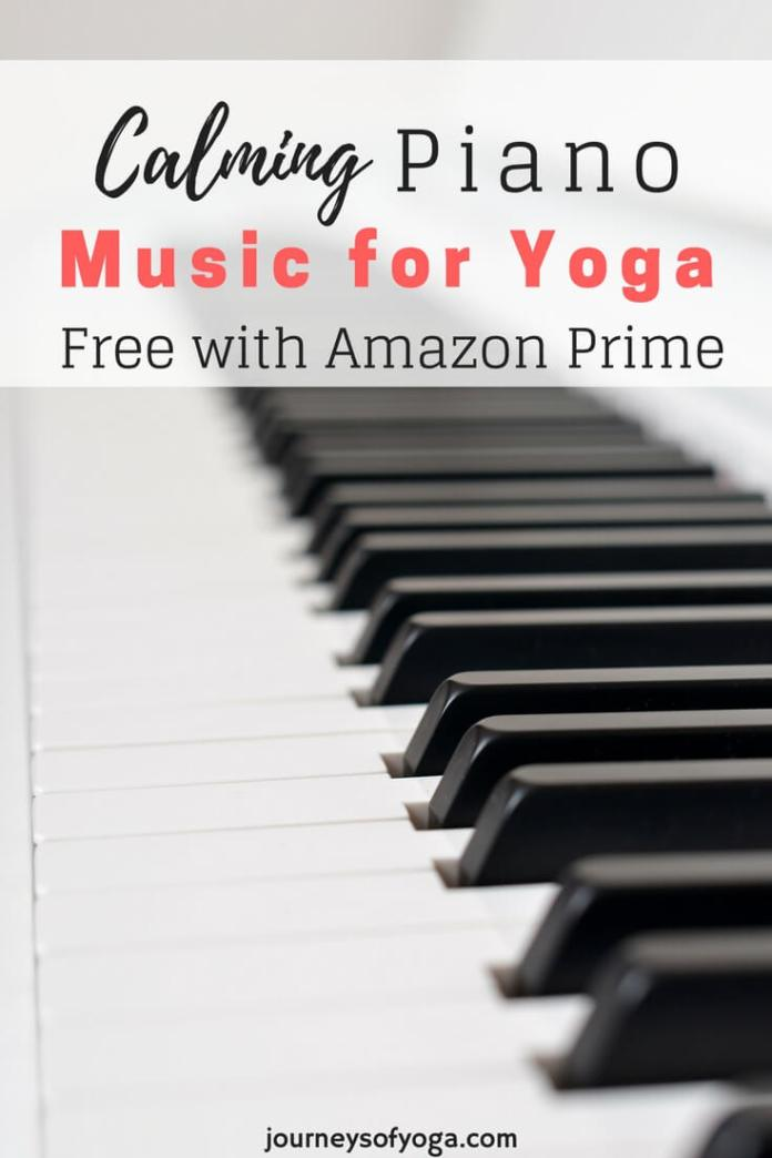 This calming piano music for yoga has three 30-minute segments. Which makes it easy to use for a 30, 60, or 90-minute practice. (Plus one bonus!)