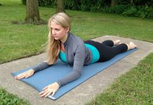 Sphinx Pose Yin Yoga: benefits, contraindications, pose guide, modifications