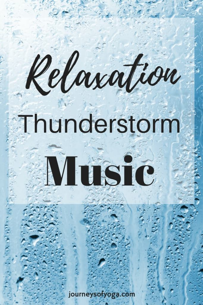 This thunderstorm relaxation music would be perfect background music for a cozy night at home. Being outside in a storm is anything but relaxing, but being safe inside hearing the sounds of the storm has a surprisingly calming effect on a lot of people.