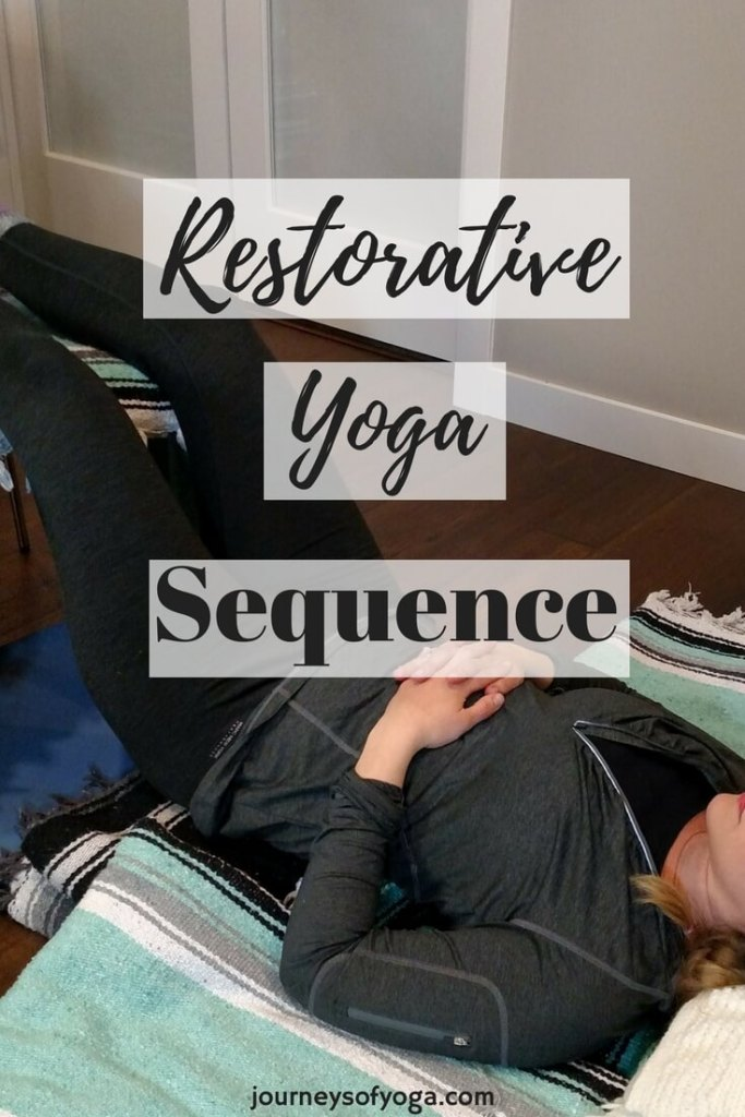 This Restorative Yoga sequence leaves you feeling like you have spent the day at the spa!