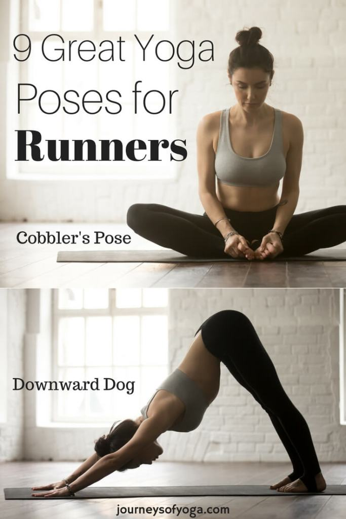 Running is a great workout and stress reliever. But, it can be very hard on your body. These yoga stretches for runners are perfect after a long or short run.