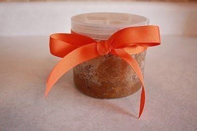 DIY for the Holiday's: Orange Spice Body Scrub