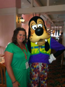 My Pal Goofy and I at Cape May in 2014