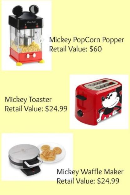 mickey mouse giveaway
