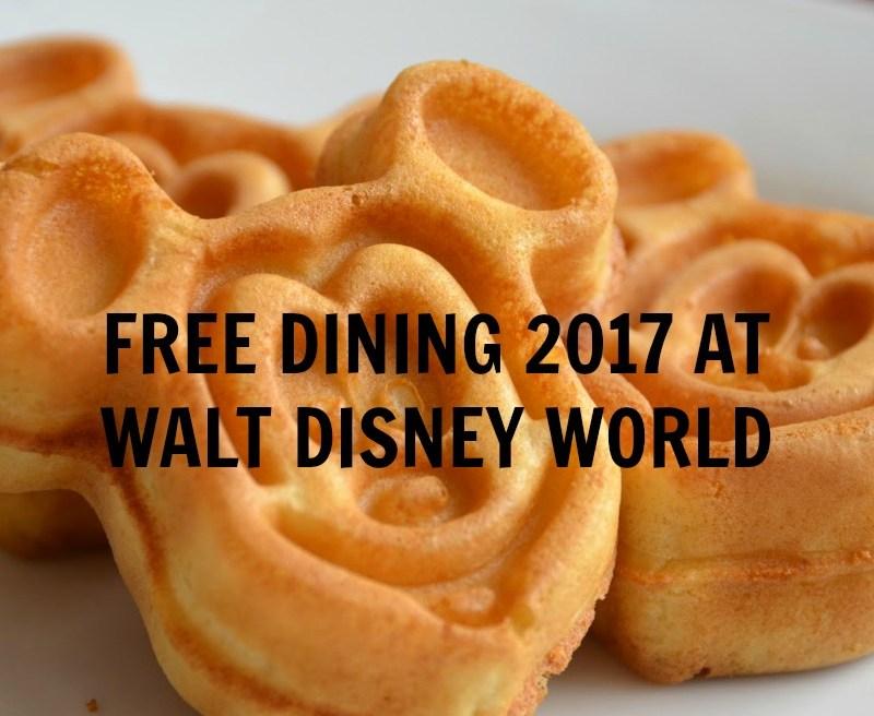 walt disney world free dining