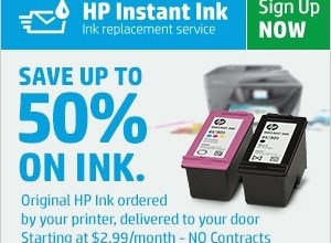 HP Instant Ink: Save Time and Money