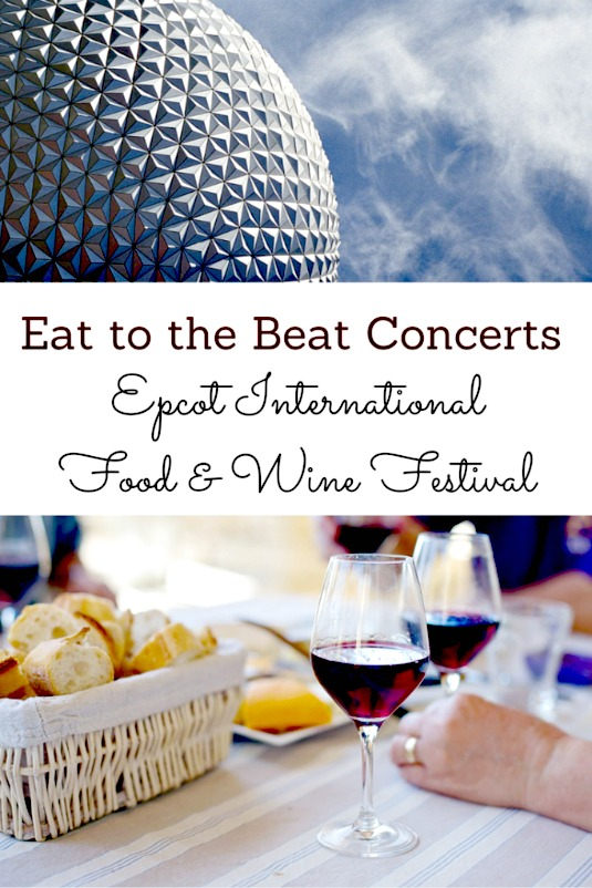 eat to the beat concerts
