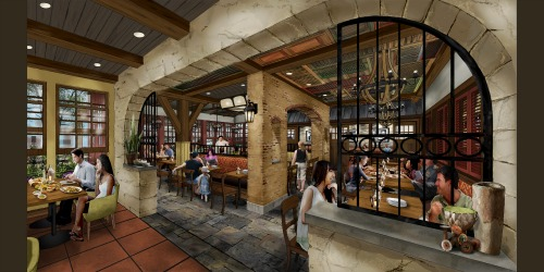 Terralina Crafted Italian: Opening Fall 2017 at Disney Springs