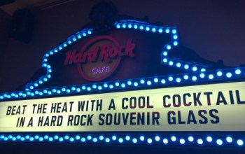 Hard Rock Cafe New York City: A Rock N Roll Party in Times Square
