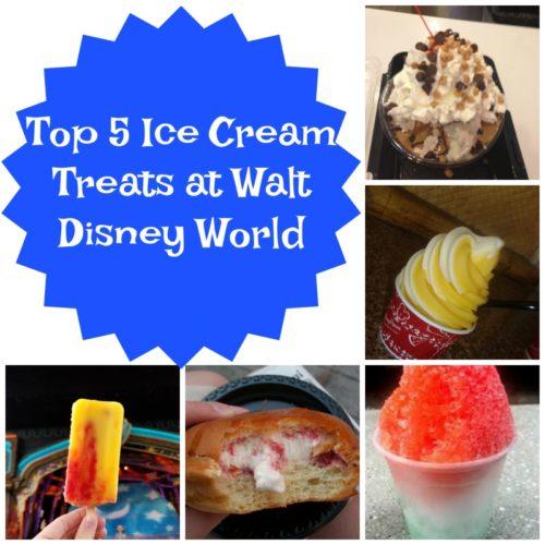 Walt Disney World Ice Cream: Top 5 Sweet Treats