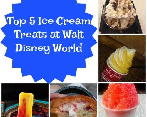 Walt Disney World Ice Cream: Top 5 Sweet Treats