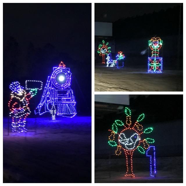 branson christmas lights display