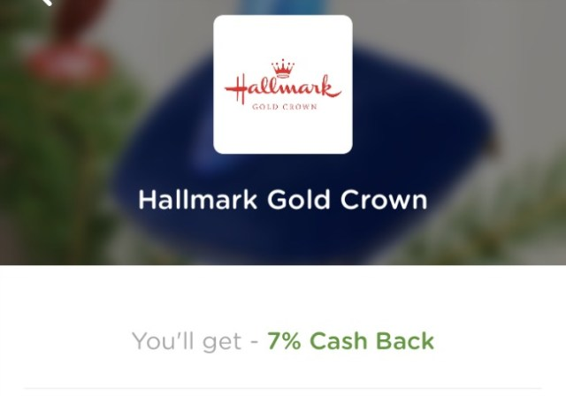 holiday shopping cashback