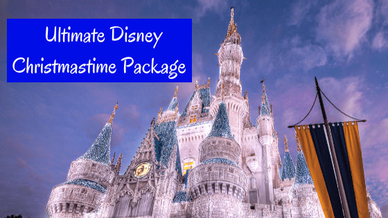 Ultimate Disney Christmastime Package at Walt Disney World