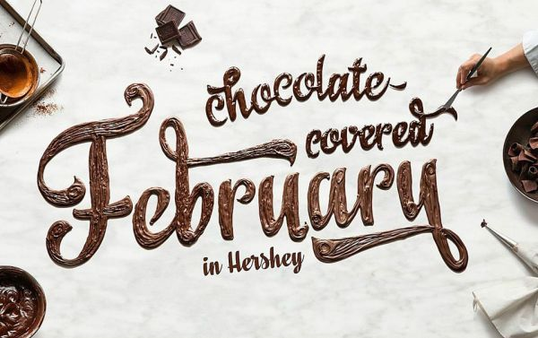 chocolate covered february