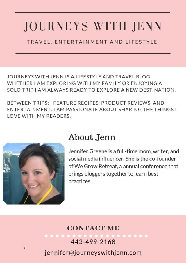 journeys with jenn media