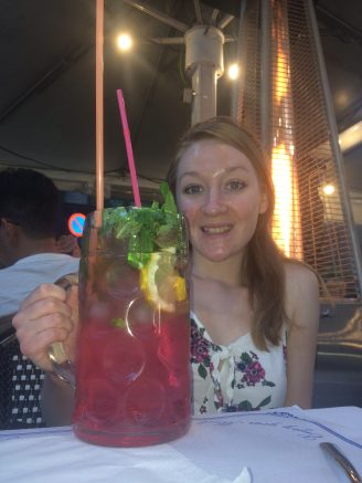 me with my cocktail!