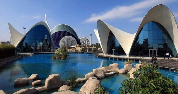 Valencia's Oceanografic Centre