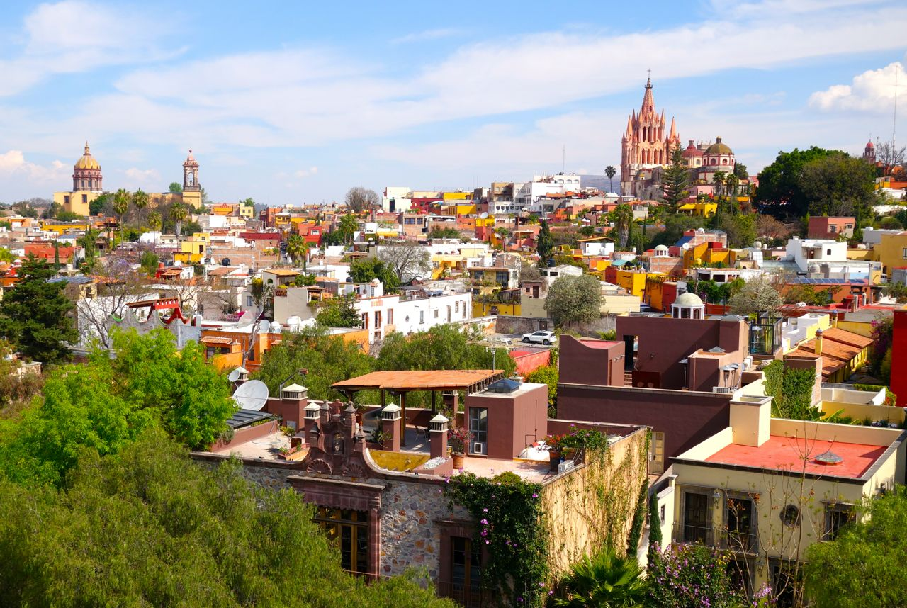 Panoramic Wallpaper Fall Best Places To Stay In San Miguel De Allende Journeys