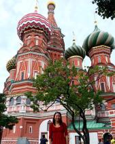 MOSCOW! St Basil cathedral