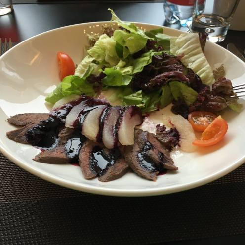 Beef and Pear Salad