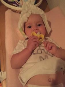 Diaper head. hahaha.