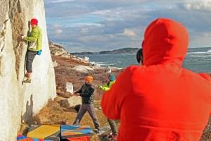 Shoulder impingement bouldering activities
