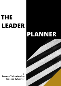 The Leader Planner