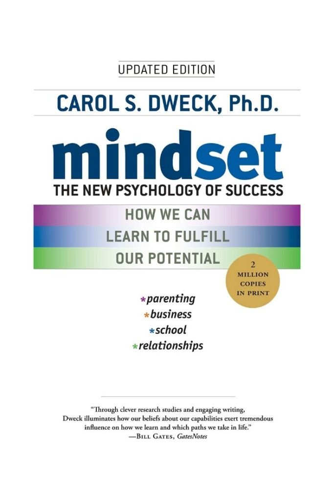 Mindset: The New Psychology of Success By Carol S. Dweck #books #bookreviews #mindset #leadership #leadershipskills