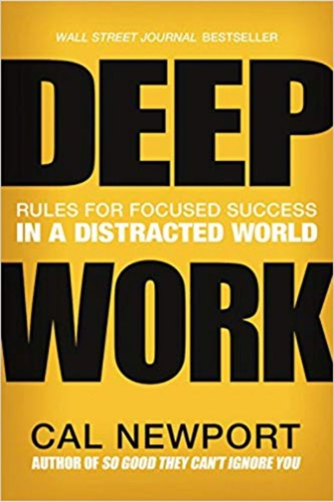 Deep Work: Rules for Focused Success in a Distracted World By Cal Newport #books #bookreviews #success #focus #productivity #motivation #leadership #leadershipskills #leadershipmatters