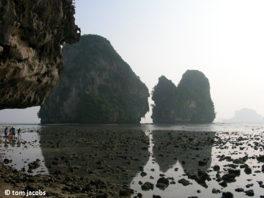 Phranang beach Krabi Thailand
