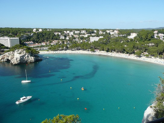 Cala Galdana Menorca Spain best beaches in Europe